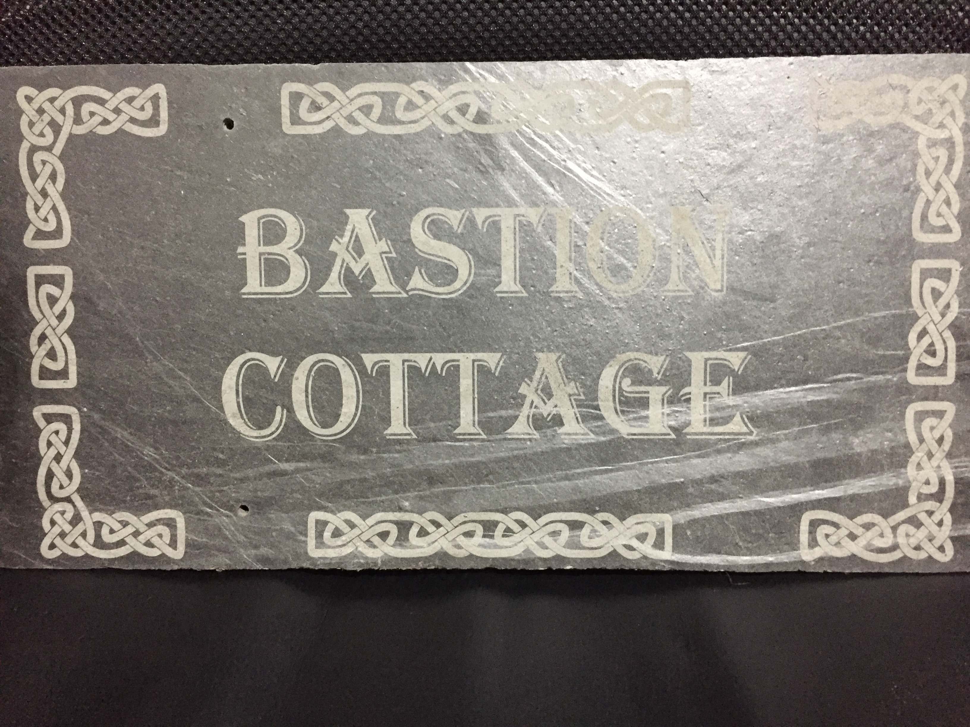 The Altered State - Laser Etched Slate