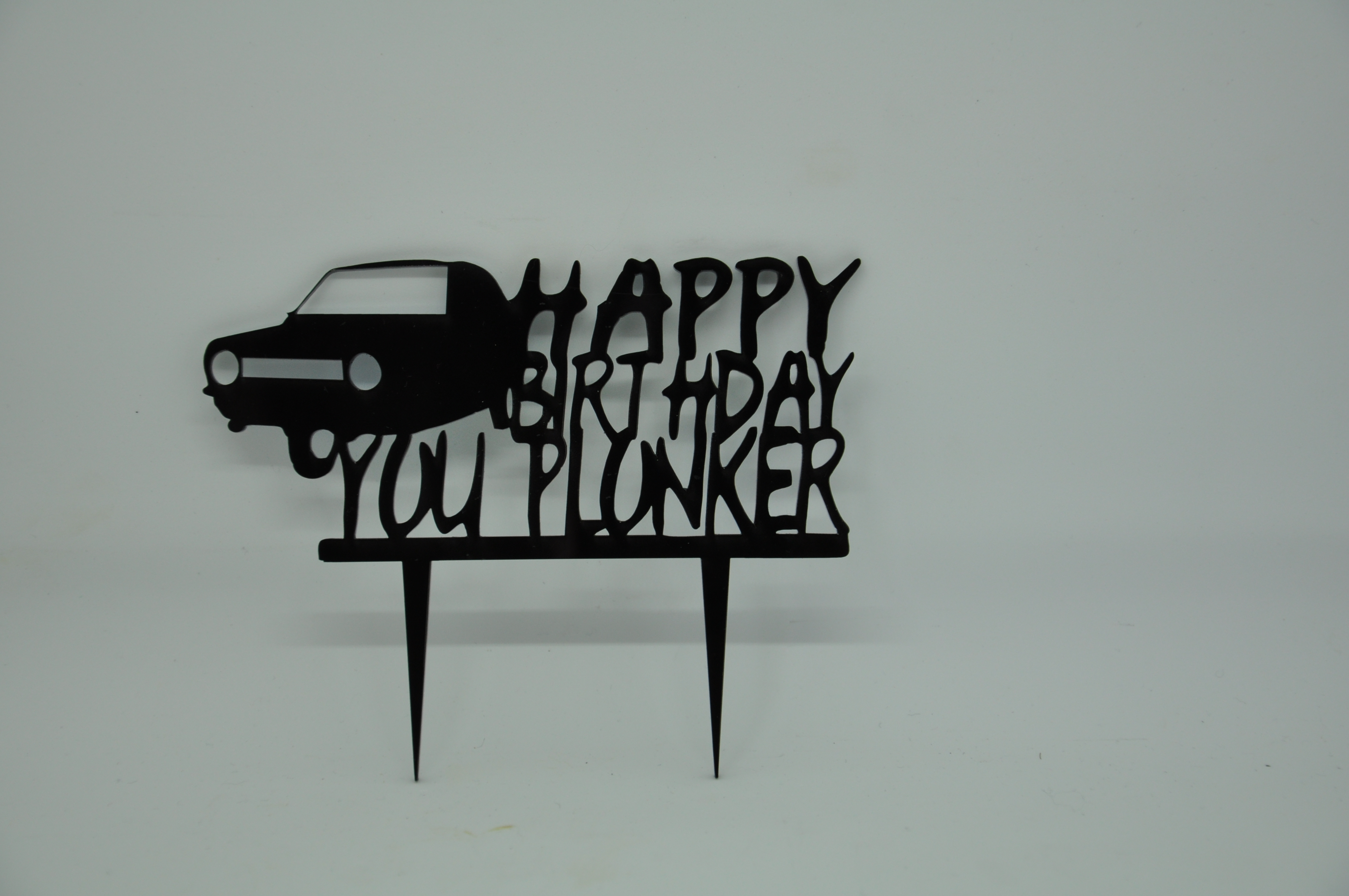 Cake topper - acrylic cake topper - only fools and horses - birthday cake topper