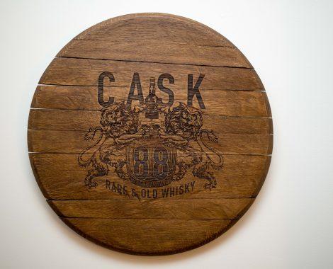 The Altered State - Laser Engraved Cask End - Cask 88